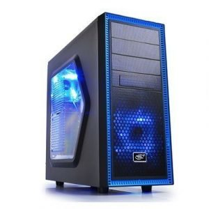 Deepcool Tesseract Sw Atx Black Musta