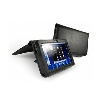 Dell Streak 7 Tuff-Luv Nahkakotelo Musta