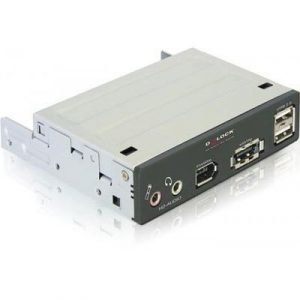 Delock 3.5 Mutlipanel Esatap/usb 2.0/firewire/hd-audio