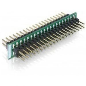 Delock Adapter Ide 40-pin Male To Male 40-nastainen Idc Uros 40-nastainen Idc Uros