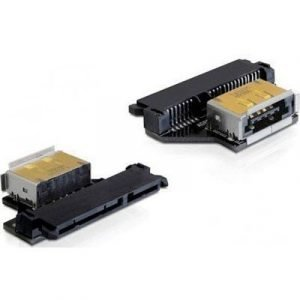 Delock Adapter Sata 22 Pin Female > Esatapd Female 22 Nastan Serial Ata Naaras 11 Pin Usb/esata Naaras Musta 0m