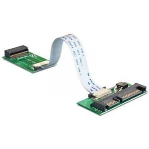Delock Converter Macbook Air Ssd > Sata 22 Pin 7 Nastan Serial Ata Uros 22 Nastan Serial Ata Naaras Valkoinen 0.1m