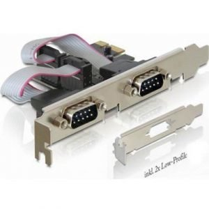Delock Pci Express Card 2 X Serial