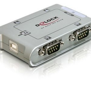 Delock Usb 2.0 To 4 Port Serial Hub