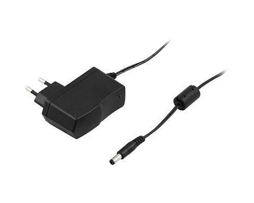 Deltaco Adapter 100-240v 5v Dc 2a Europlug (power Cee 7/16) Male Power Female Black 1.5m
