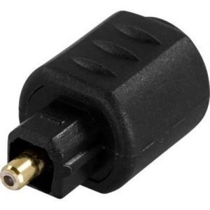 Deltaco Adapter Miniplug Female To Toslink Male Mini Toslink Naaras Toslink Uros