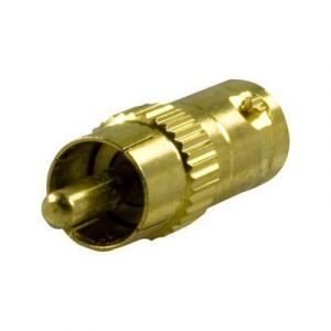 Deltaco Adapter Rca Male To Bnc Female Gold Plated Rca Uros Bnc Naaras