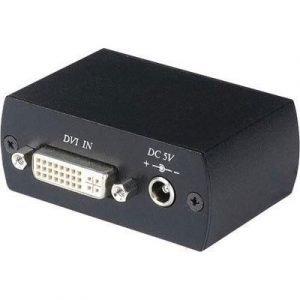 Deltaco Dvi-206 24-nastainen Digitaalinen Dvi Naaras Dvi-d Dual Link Naaras