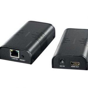 Deltaco Ethernet Hdmi Extender 120m 1080p Cat6 Musta