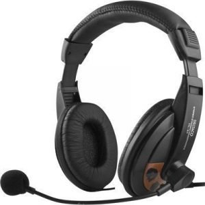 Deltaco Hl-56 Over-ear Black