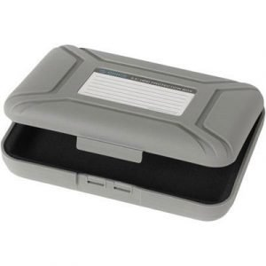 Deltaco Rounded Case For 1x3.5 Hdd Grey