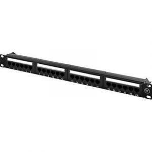 Deltaco Utp Patchpanel Krone-plintar 1u 19 Black