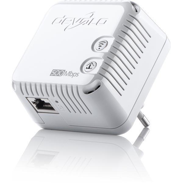 Devolo dLAN 500 WiFi sovitin LAN/WLAN 500Mbps 150Mbps 2 4Ghz valk