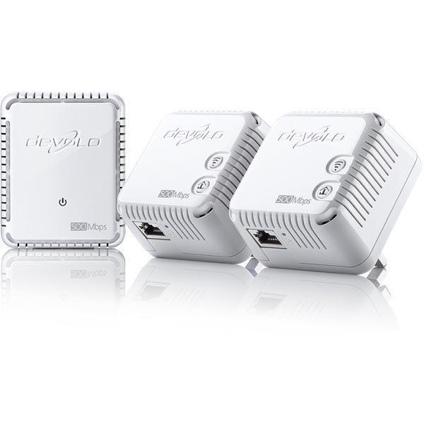 Devolo dLAN 500 WiFi starter kit LAN/WLAN 500Mbps 150Mbps valk