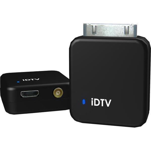 Dexatek iDTV TV-viritin iPad 2 3 ja iPhone 4S malleihin musta