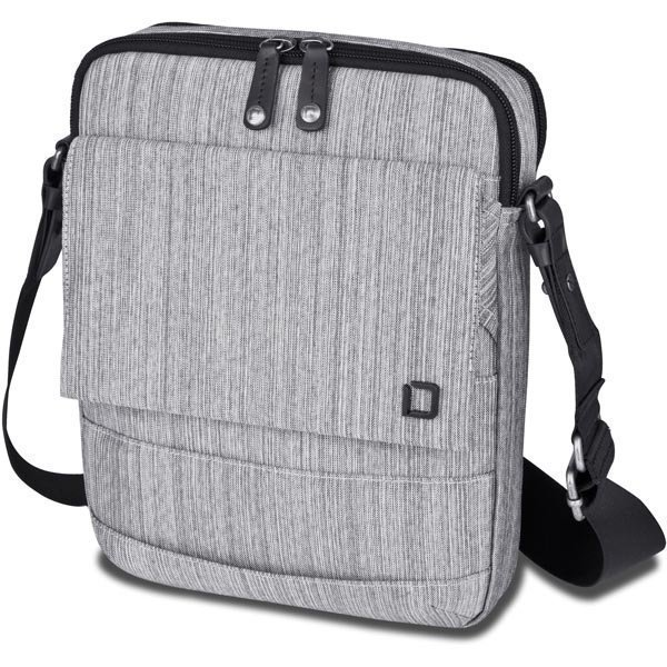 """Dicota Code Sling Bag laukku 10 tableteille polyesteriä harmaa"""""""