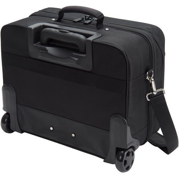 """Dicota Multi Roller Eco matkalaukku 15 6 tietokoneelle musta"""""""