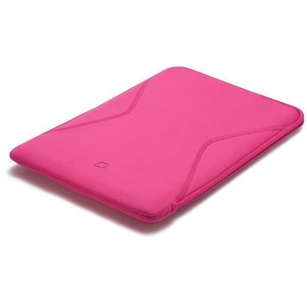 Dicota Tab Case 10 kotelo tableteille neopreneenistä vaaleanpunaine