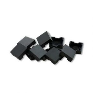 Direktronik Cover For 25-8074 Black 10pcs