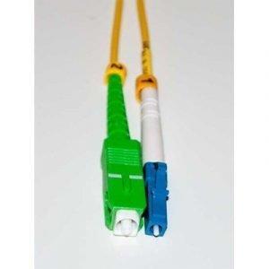 Direktronik Kytkentäkaapeli Lc Sc Simplex Yksimuoto 9/125