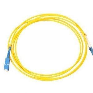 Direktronik Kytkentäkaapeli Sc Lc Simplex Yksimuoto 9/125