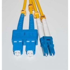 Direktronik Optical Fiber Cable Sc Lc Duplex Yksimuoto 9/125