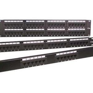 Direktronik Patchpanel 24xrj45 110/krone Cat.6 1u