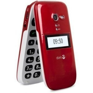 Doro Phoneeasy 624 Valkoinen Punainen