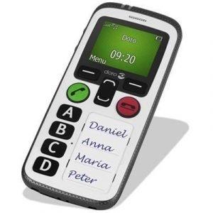 Doro Secure 580 Valkoinen Musta