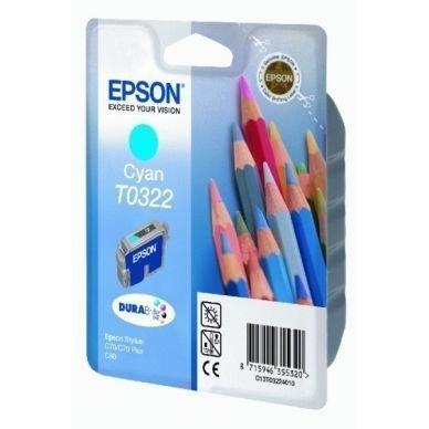 EPSON Mustepatruuna cyan 16ml