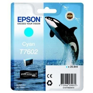 EPSON Mustepatruuna cyan 25