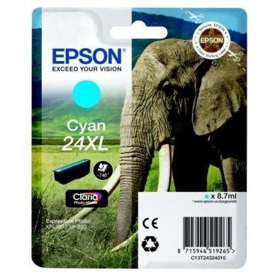 EPSON Mustepatruuna cyan 740 sivua high yield