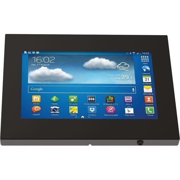 "EPZI Anti-theft case Galaxy Tab/note 10.1 peite VESA 100x100 musta"""