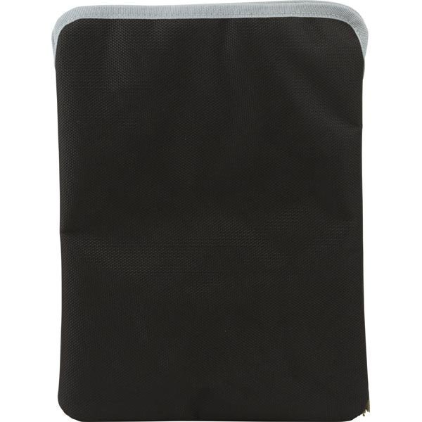 EPZI Sleeve case polyesterisuojus iPad/Android-tableille musta