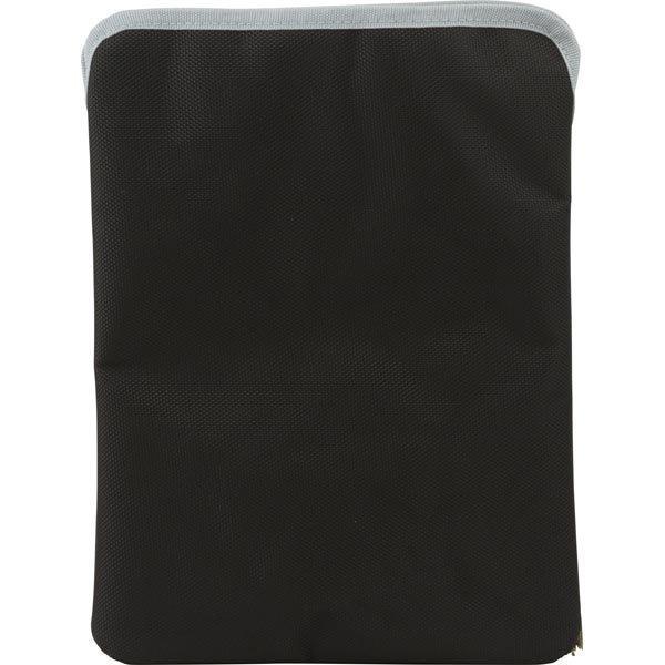 EPZI Sleeve case polyesterisuojus iPad/Android-tableille musta