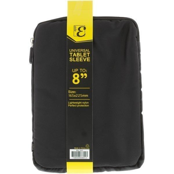 "EPZI Universal Tablet Sleeve nylonsuojus max. 8tabletille musta"""