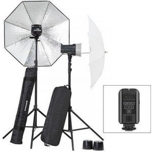Elinchrom D-lite Rx 2 Paraply To Go Set