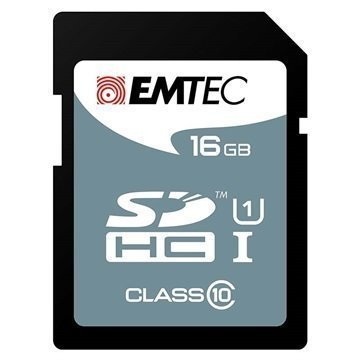 Emtec ECMSD16GHC10 SDHC Muistikortti 16Gt