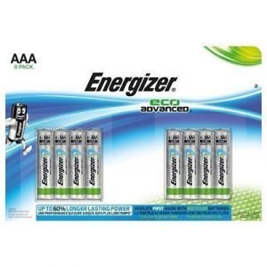 Energizer Battery Eco Advanced Aaa/lr03 8-pack