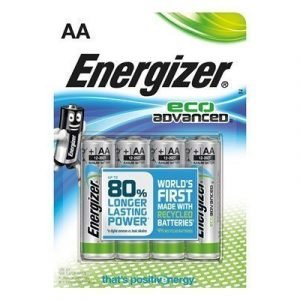 Energizer Battery Eco Advanced Aa/lr6 4-pack