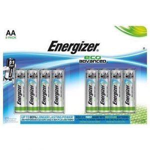 Energizer Battery Eco Advanced Aa/lr6 8-pack