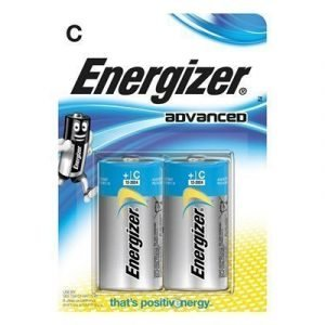 Energizer Battery Eco Advanced C/lr14 2-pack