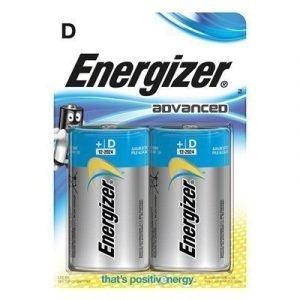 Energizer Battery Eco Advanced D/lr20 2-pack