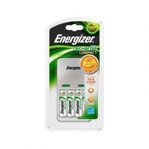 Energizer Charger Compact 2000 Incl 4xaa 2000mah