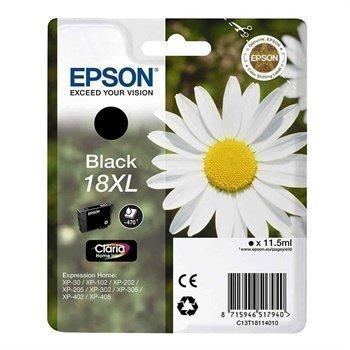 Epson 18XL Inkjet Mustepatruuna Expression Home Xp-30 Musta