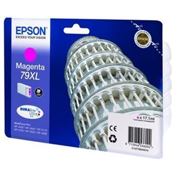 Epson 79 Mustepatruuna XL WorkForce Pro 4630 5110 5620 5690 Magenta