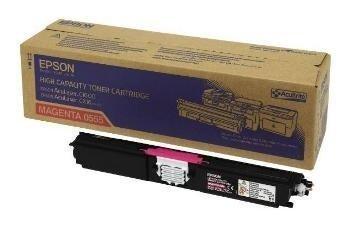 Epson Aculaser C 1600 CX 16 Toner HC C13S050555 Magenta