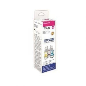 Epson Ink Magenta T6643 70ml Et-2550/et-4550