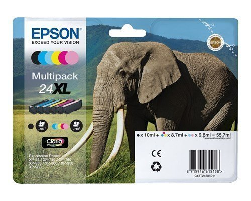 Epson Ink Multipack Photo 24xl 6-color