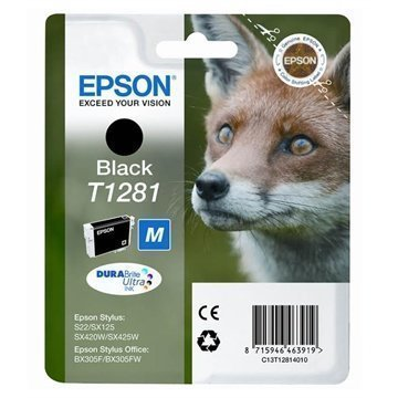 Epson Inkjet Mustekasetti T1282 Stylus Office BX 305 F Musta